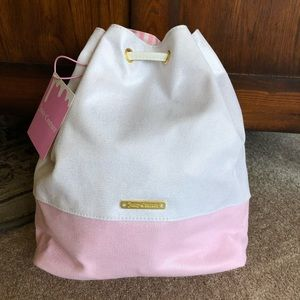 Juicy Couture Drawstring Bucket Bag